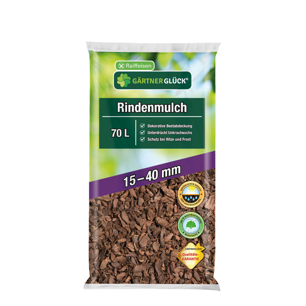 GÄRTNERGLÜCK Rindenmulch 15-40 mm