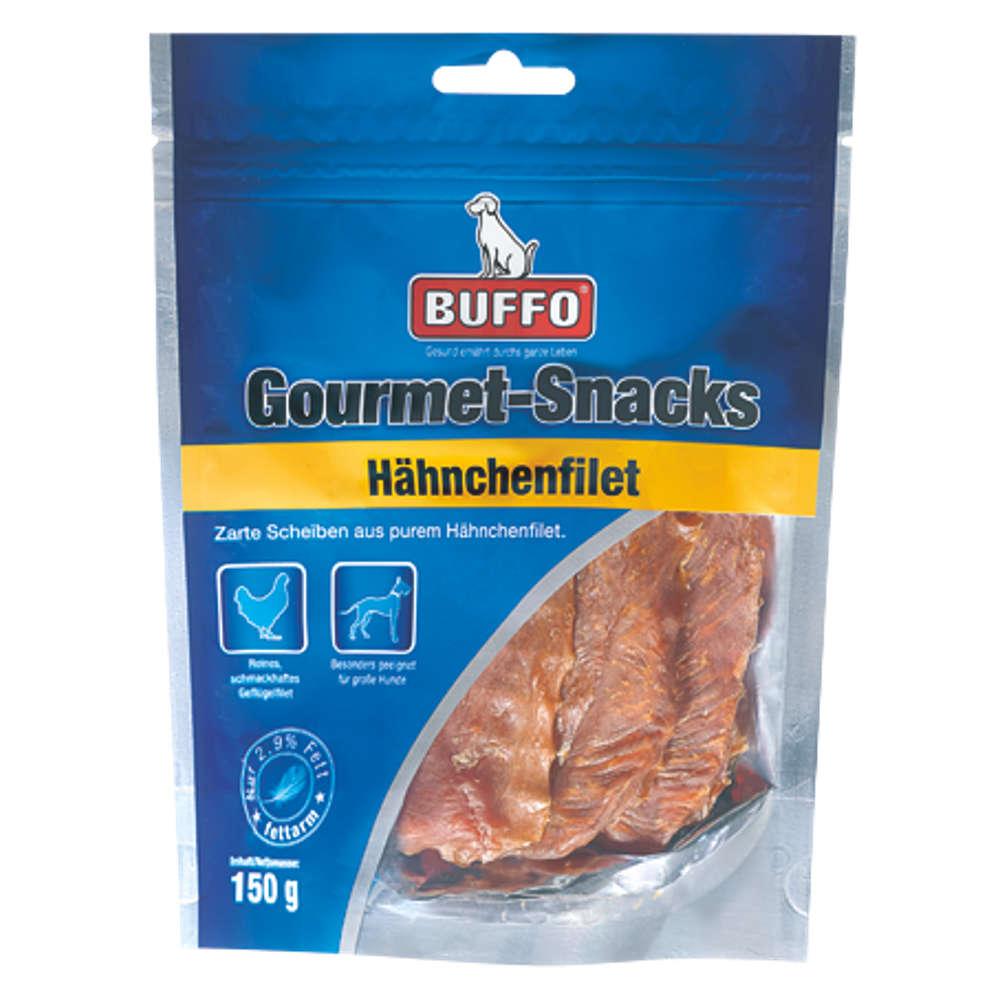 BUFFO Gourmet-Snacks Haehnchenfilet - Hundeleckerlis
