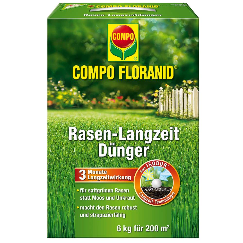COMPO FLORANID Rasen-Langzeitduenger - Rasenduenger