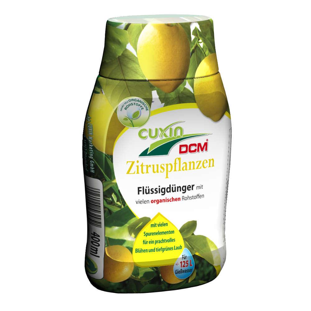 CUXIN DCM Fluessigduenger Zitruspflanzen - Universalduenger