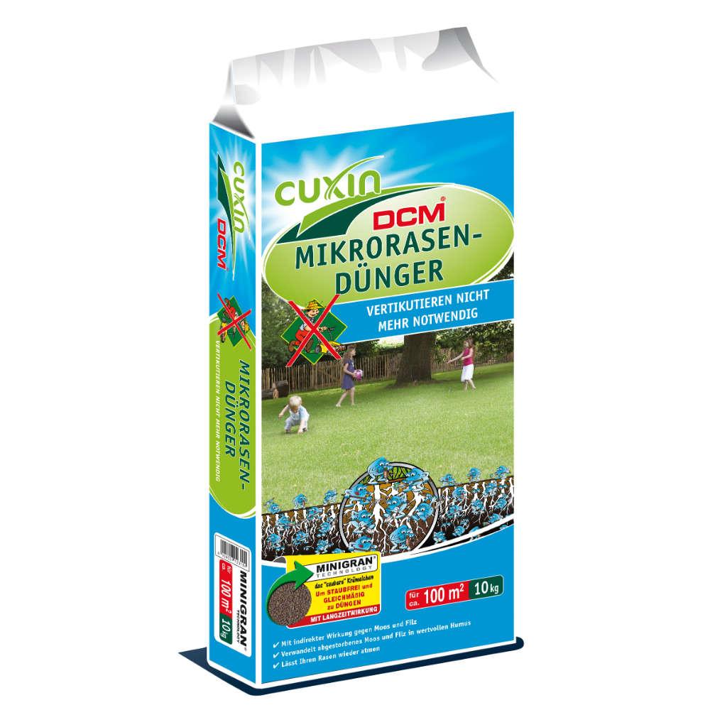 Grafik für CUXIN DCM Mikrorasen-Dünger in raiffeisenmarkt.de