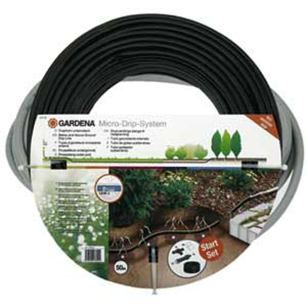 Gardena Tropfrohr unterirdisch 13,7 mm (Start-Set)