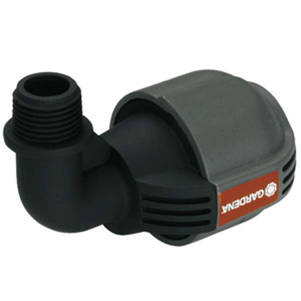 Gardena Sprinkler-System L-Stück Außengewinde 13mm(1/2Zoll), 25mm, Quick&Easy - Sprinklersysteme