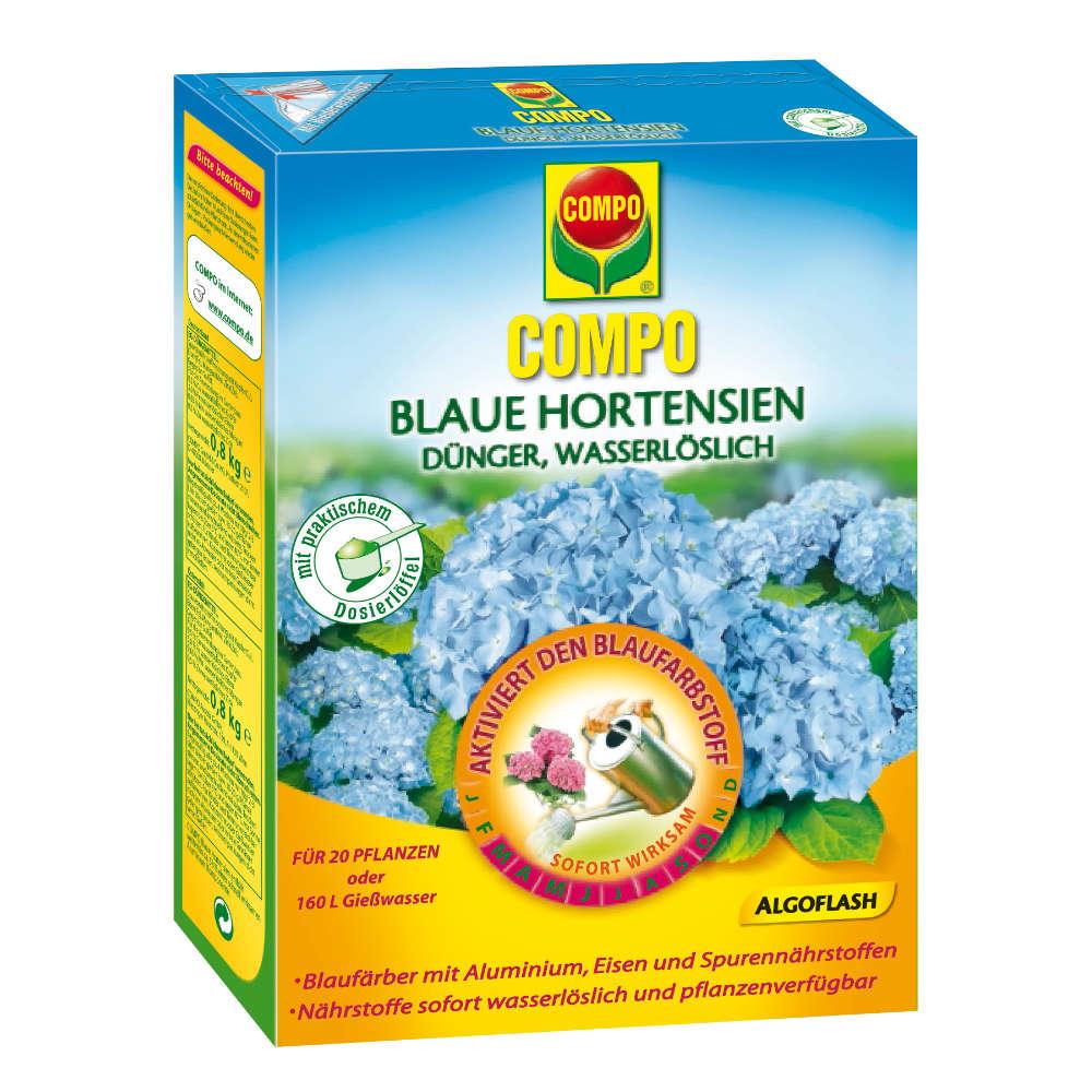 COMPO Algoflash Blaue Hortensie - Gartendünger