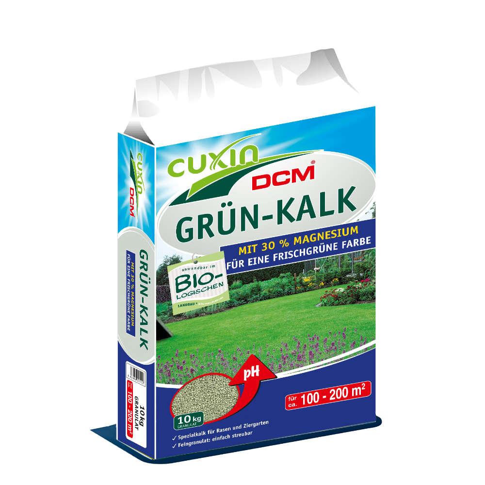 CUXIN DCM DCM Grün-Kalk Granulat - Rasendünger