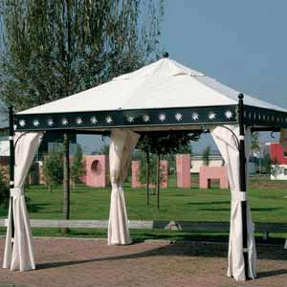 SIENA GARDEN Seitenteile zu Pavillon Korfu - Gartenpavillon
