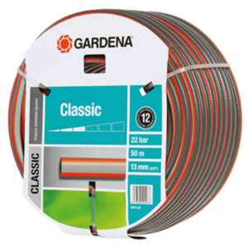 gardena classic schlauch 13 mm 1 2 50 m. Black Bedroom Furniture Sets. Home Design Ideas