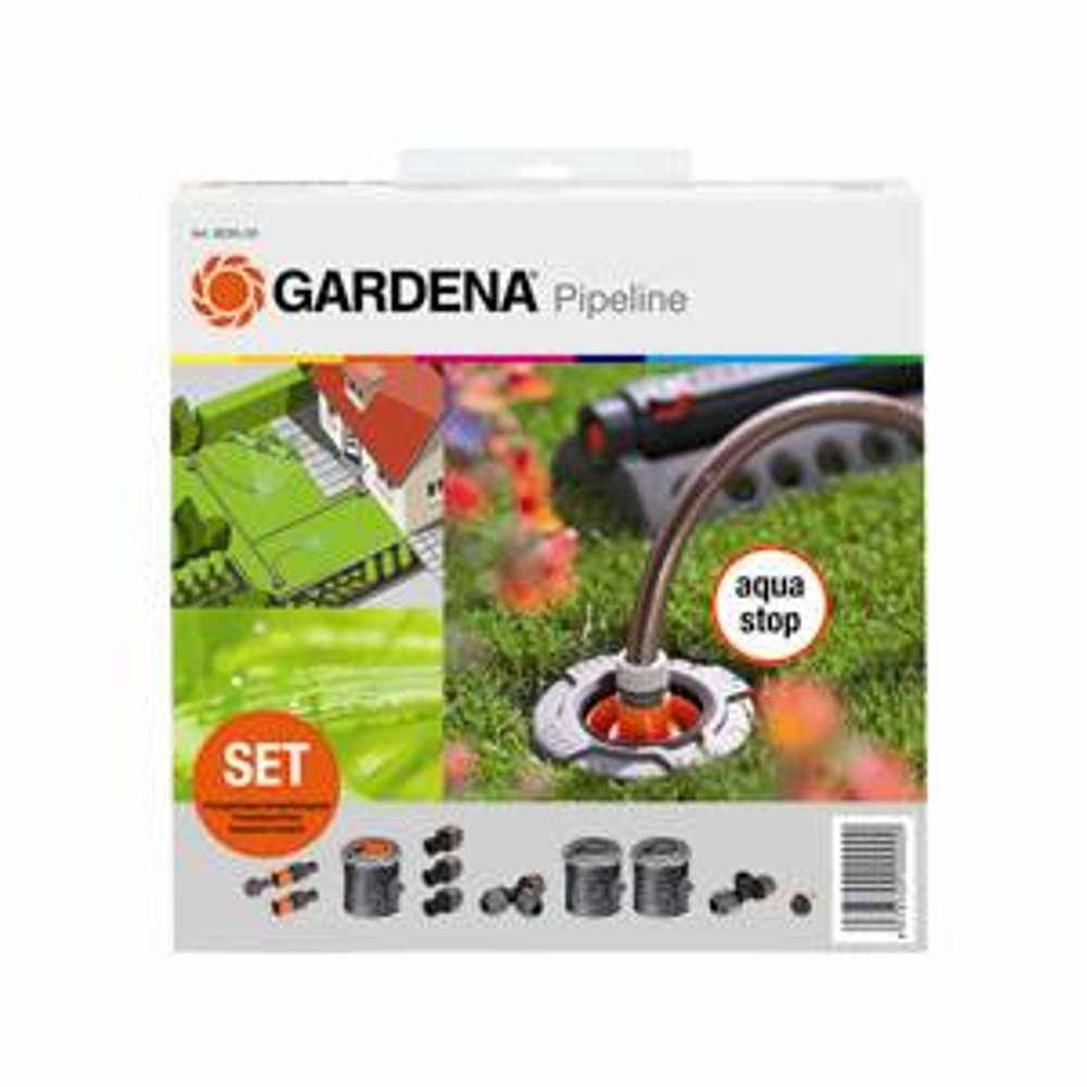 Gardena Sprinklersystem StartSet Pipeline mit 2 Wasserstellen