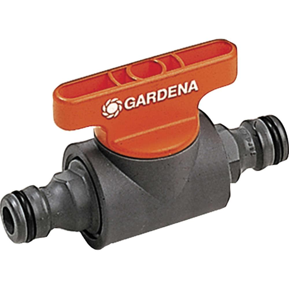 Gardena Kupplung mit Regulierventil - Anschluesse & Kupplungen