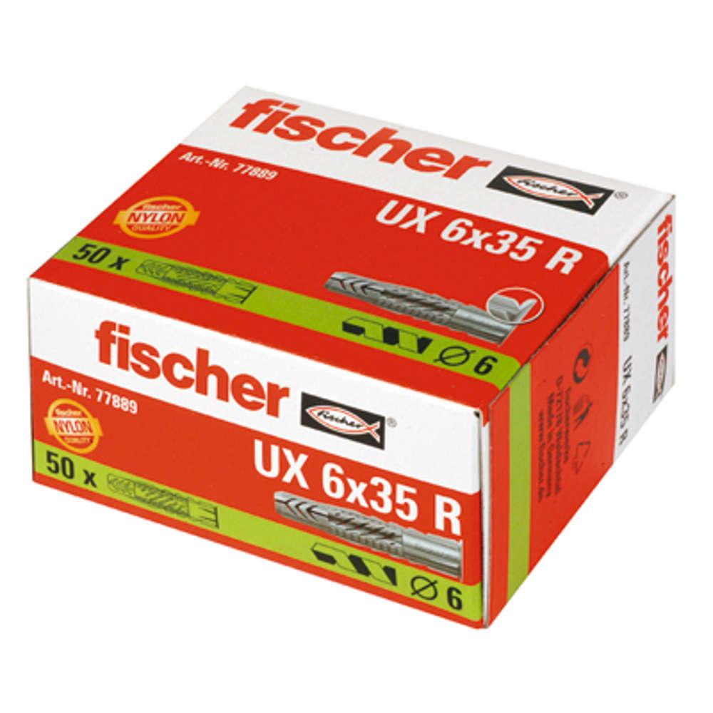 Fischer Universaldübel UX 6 x 35 R