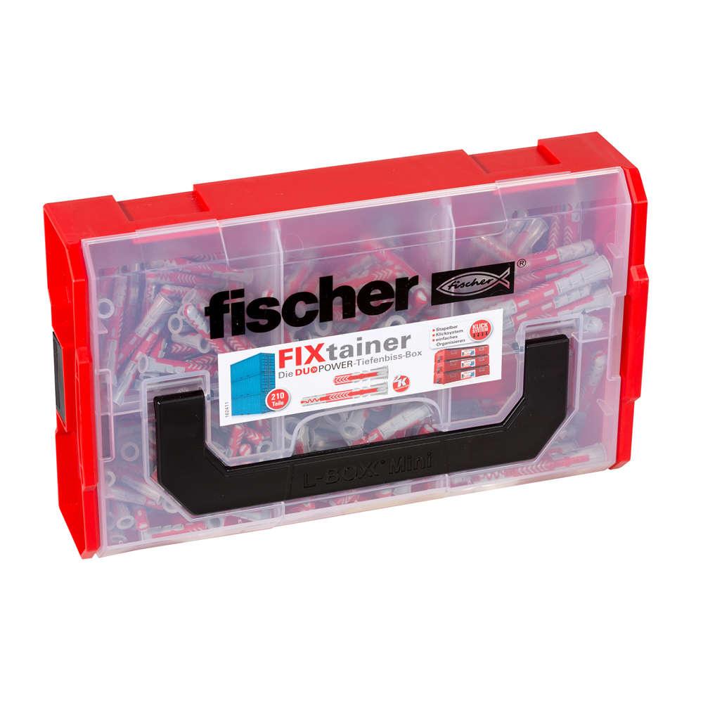 Fischer FIXtainer - DUOPOWER - Tiefenbiss-Box