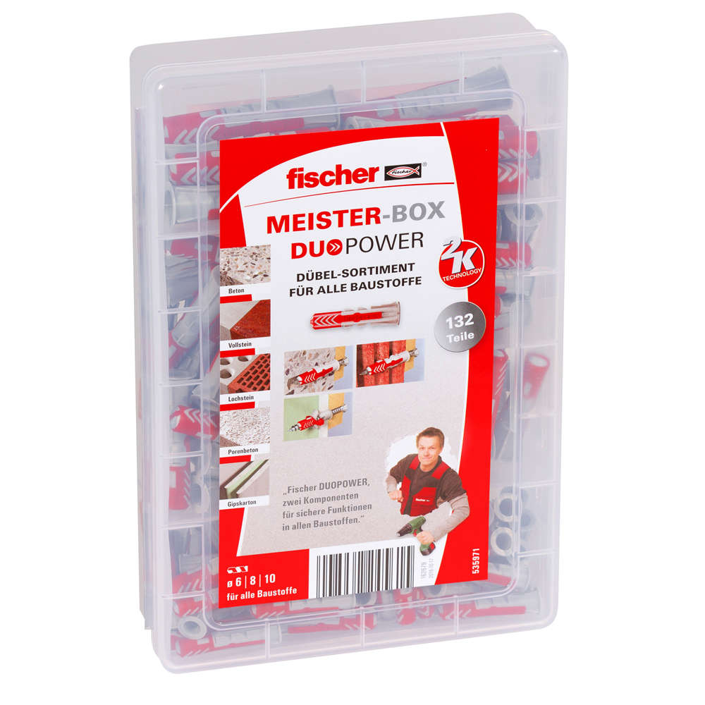 Fischer MEISTER-BOX DUOPOWER