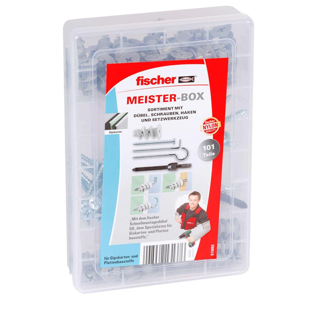 Fischer MEISTER-BOX GK + Schrauben