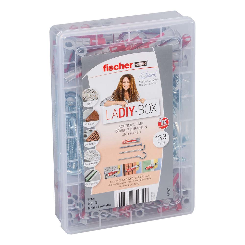 Fischer LaDIY-Box Duopower + Schraube