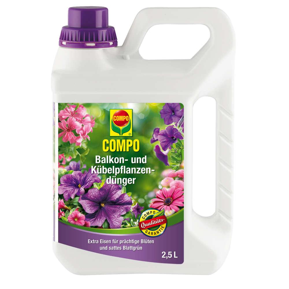 COMPO Balkon- und Kübelpflanzendünger - Dünger