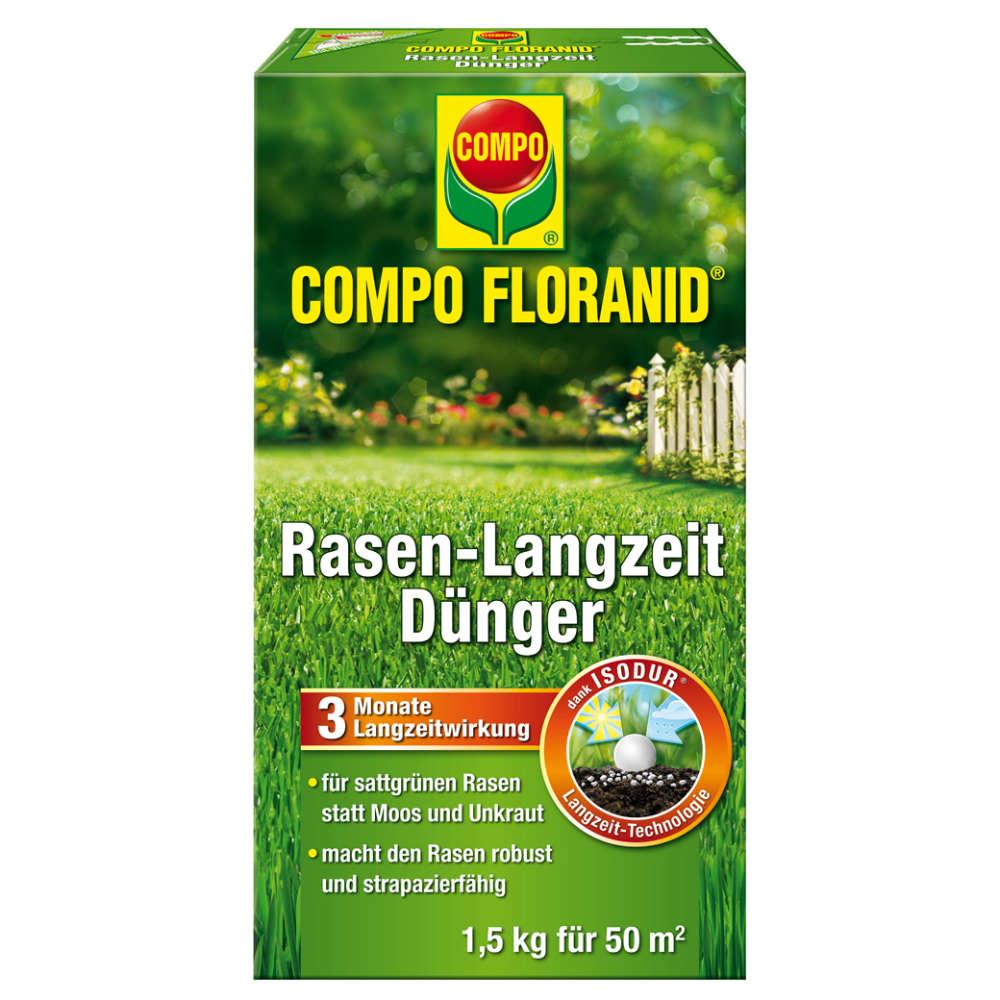 COMPO FLORANID Rasen-Langzeitdünger - Rasendünger
