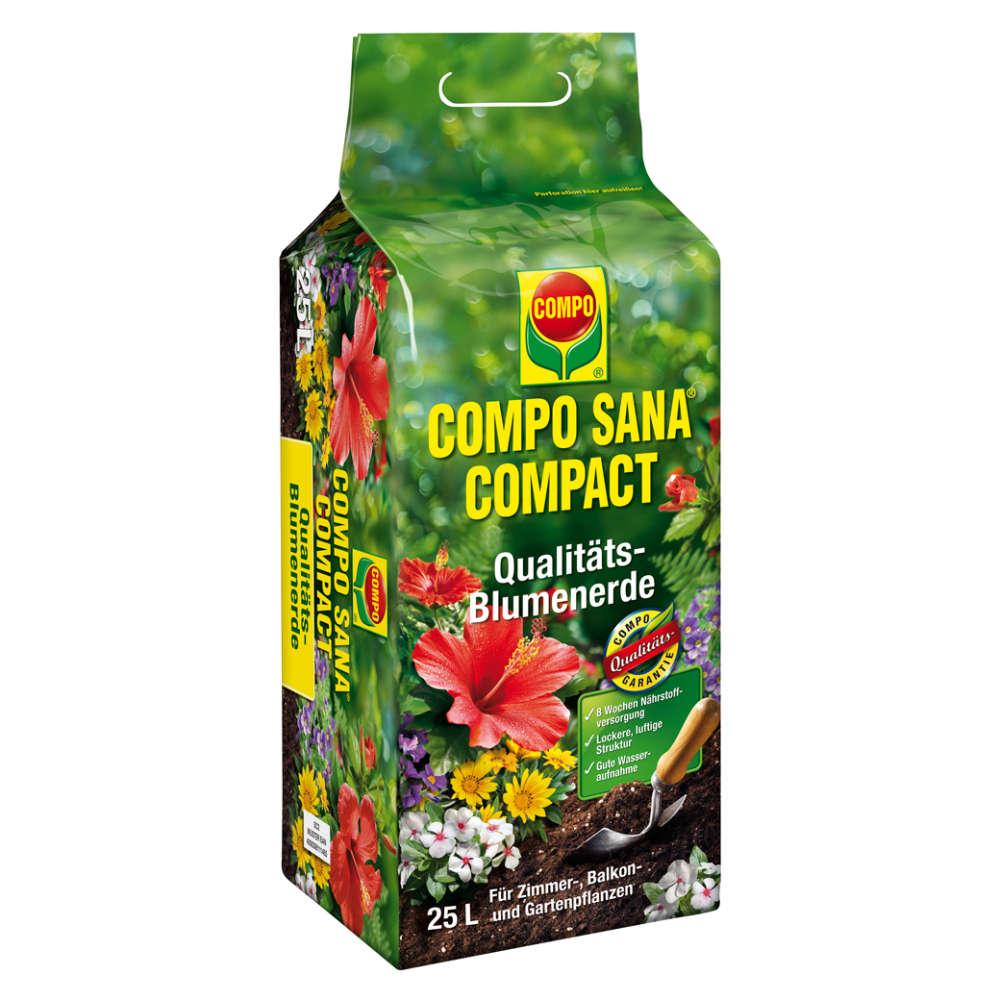 COMPO SANA COMPACT Qualitäts-Blumenerde - Erden