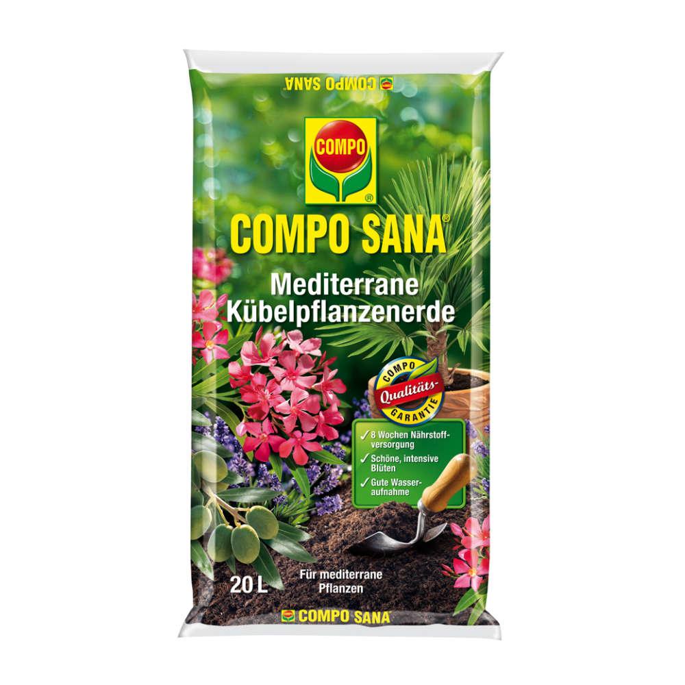 COMPO SANA Mediterrane Kübelpflanzenerde - Erden