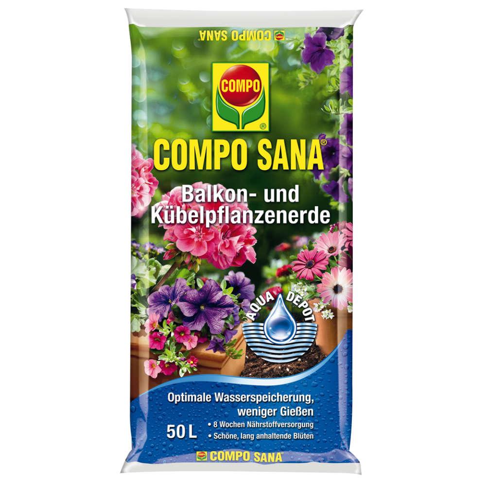 COMPO SANA Balkon- und Kübelpflanzenerde - Erden