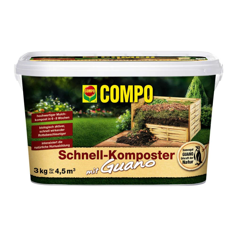 COMPO Schnellkomposter mit Guano - Dünger