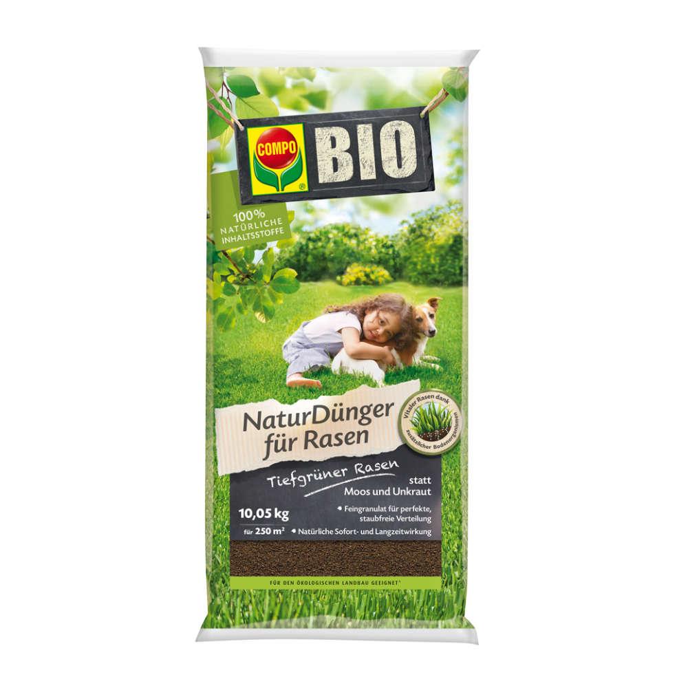 COMPO BIO NaturDünger für Rasen - Rasendünger