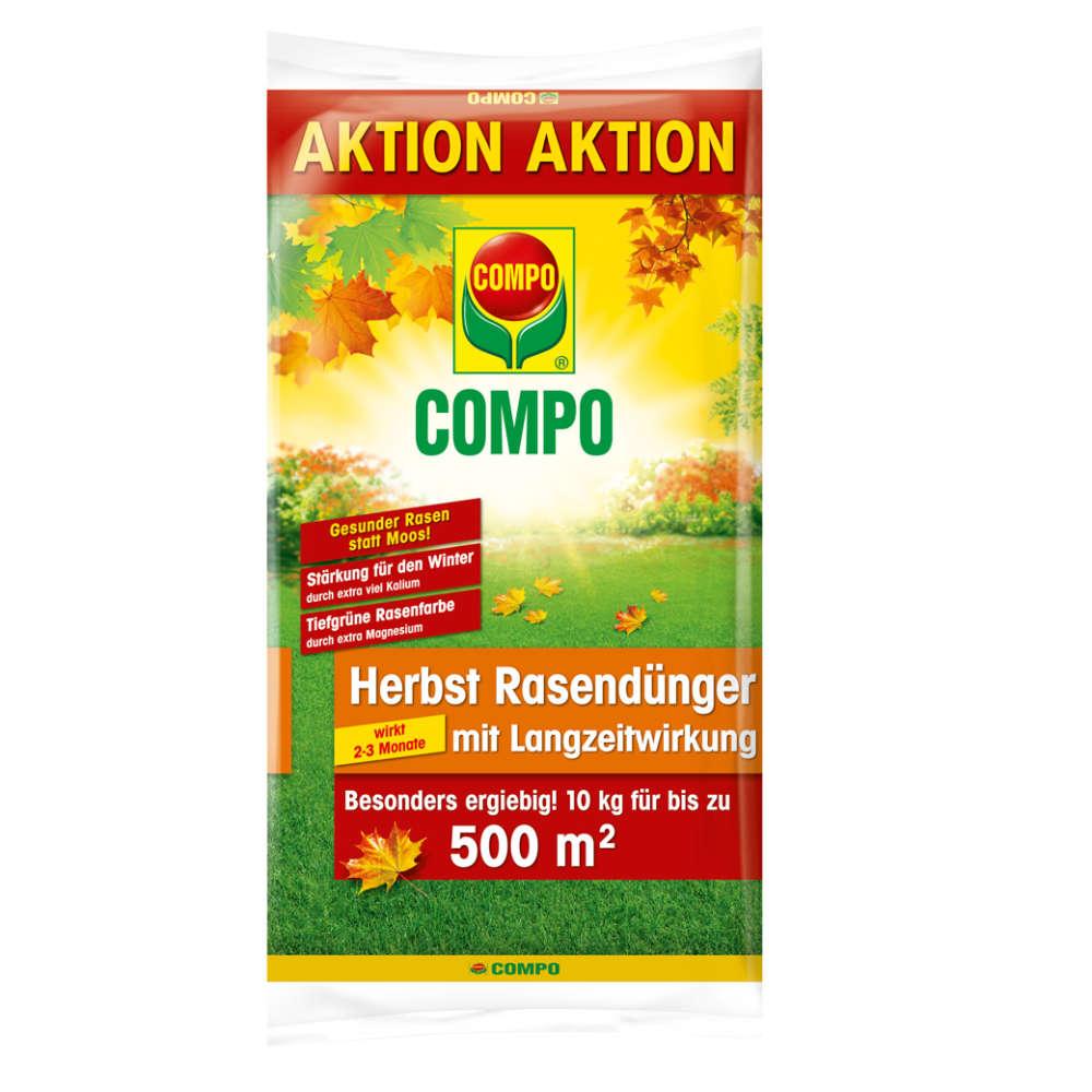 COMPO Herbst Rasendünger mit Langzeitwirkung - Rasendünger