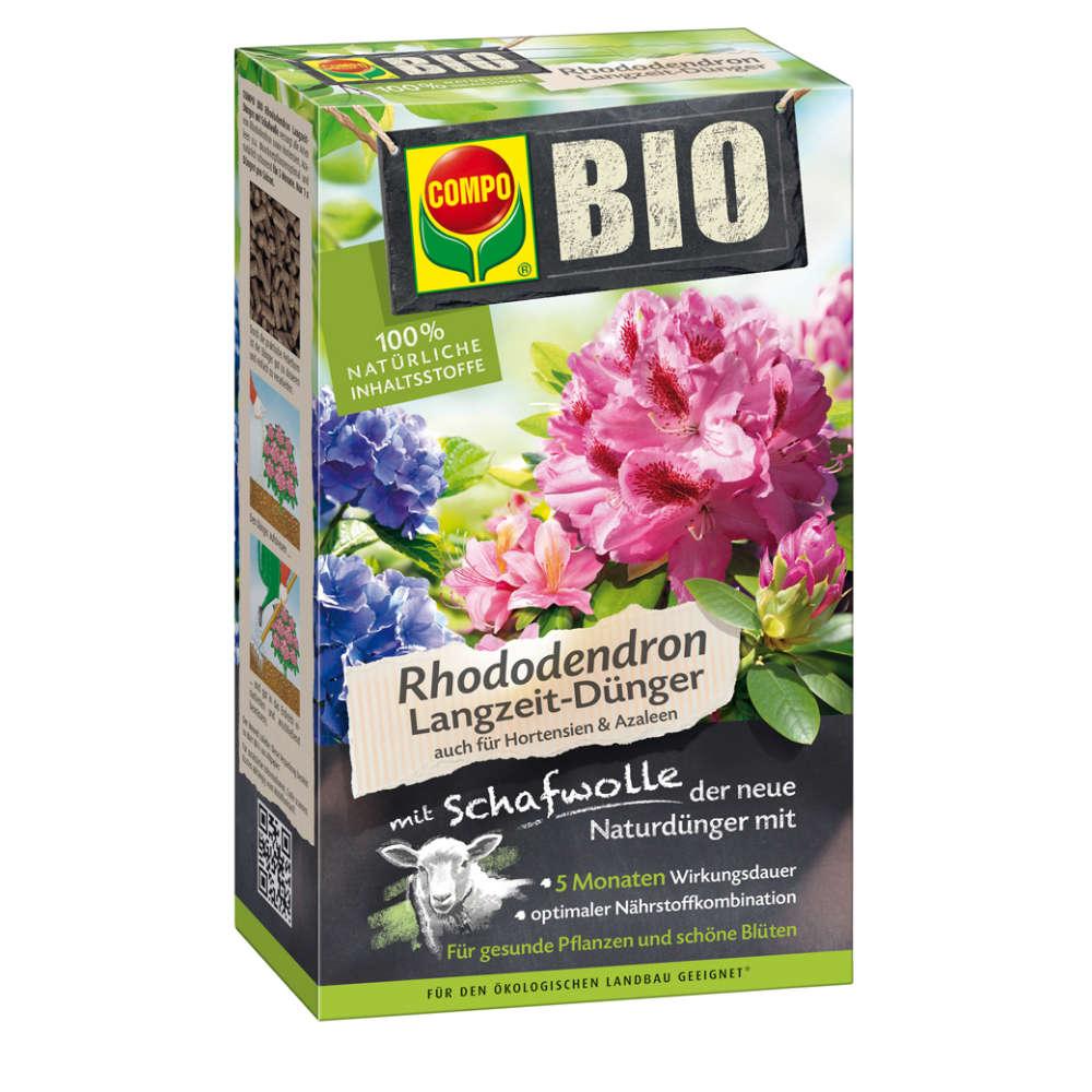 COMPO BIO Rhododendron Langzeit-Dünger mit Schafwolle - Dünger