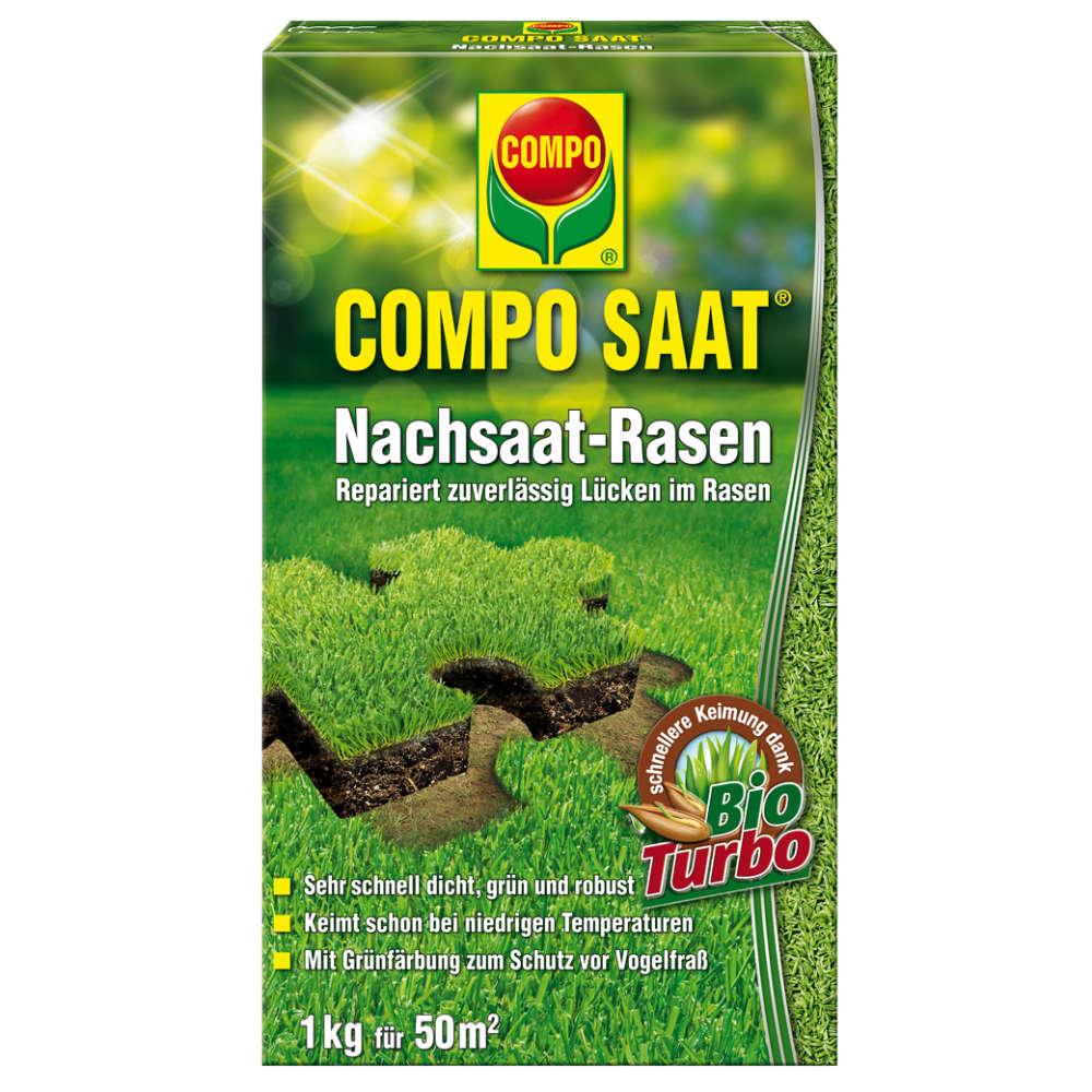 COMPO Nachsaat-Rasen grün und dicht - Rasensaat