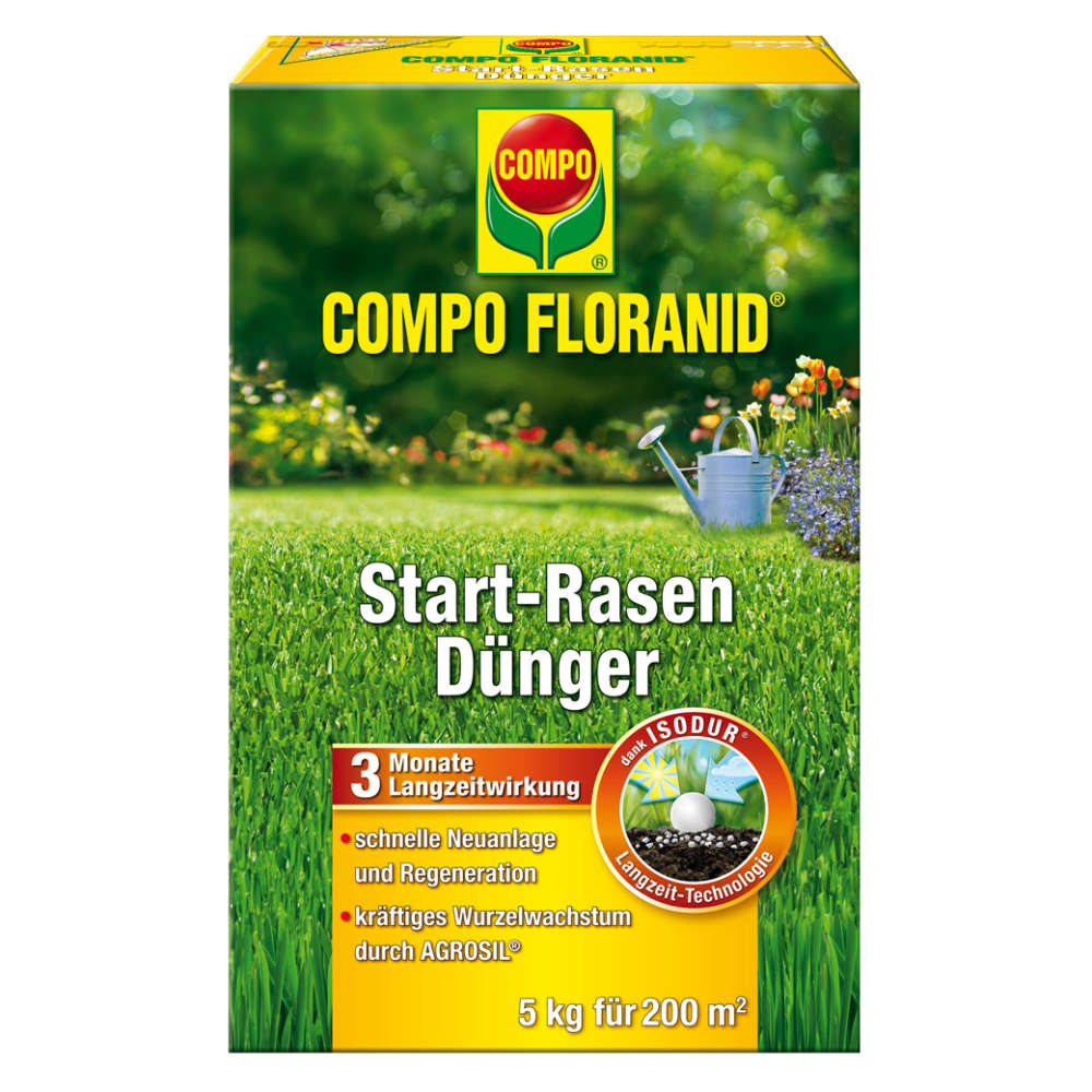 COMPO FLORANID Start-Rasendünger 5kg - Rasendünger