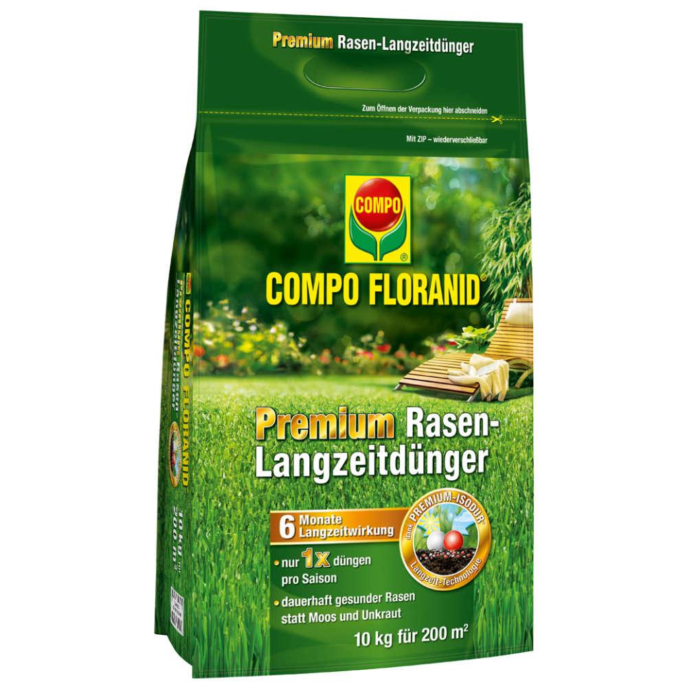 COMPO FLORANID Premium Rasen-Langzeitdünger - Rasendünger