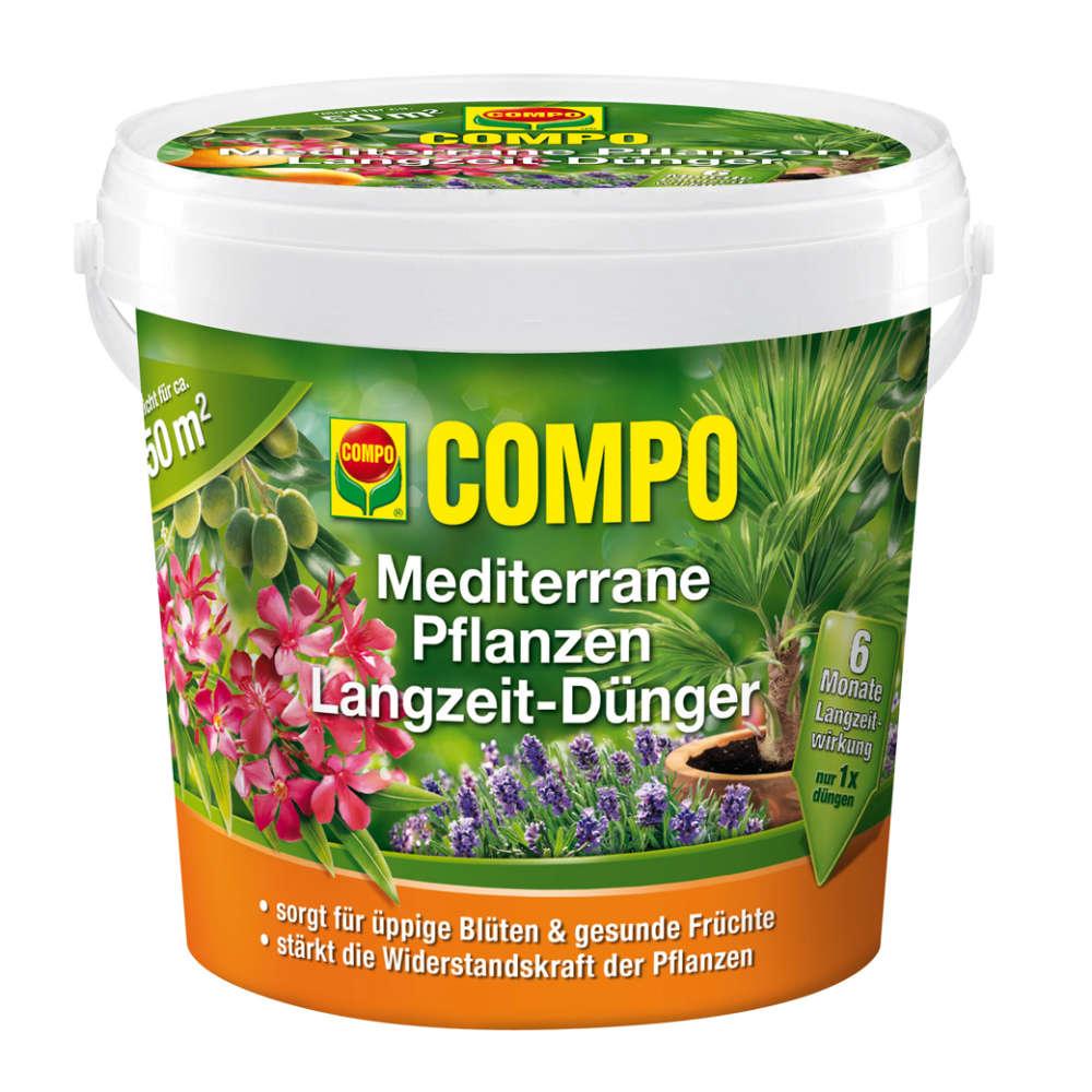 COMPO Mediterrane Pflanzen Langzeit-Dünger - Spezialdünger