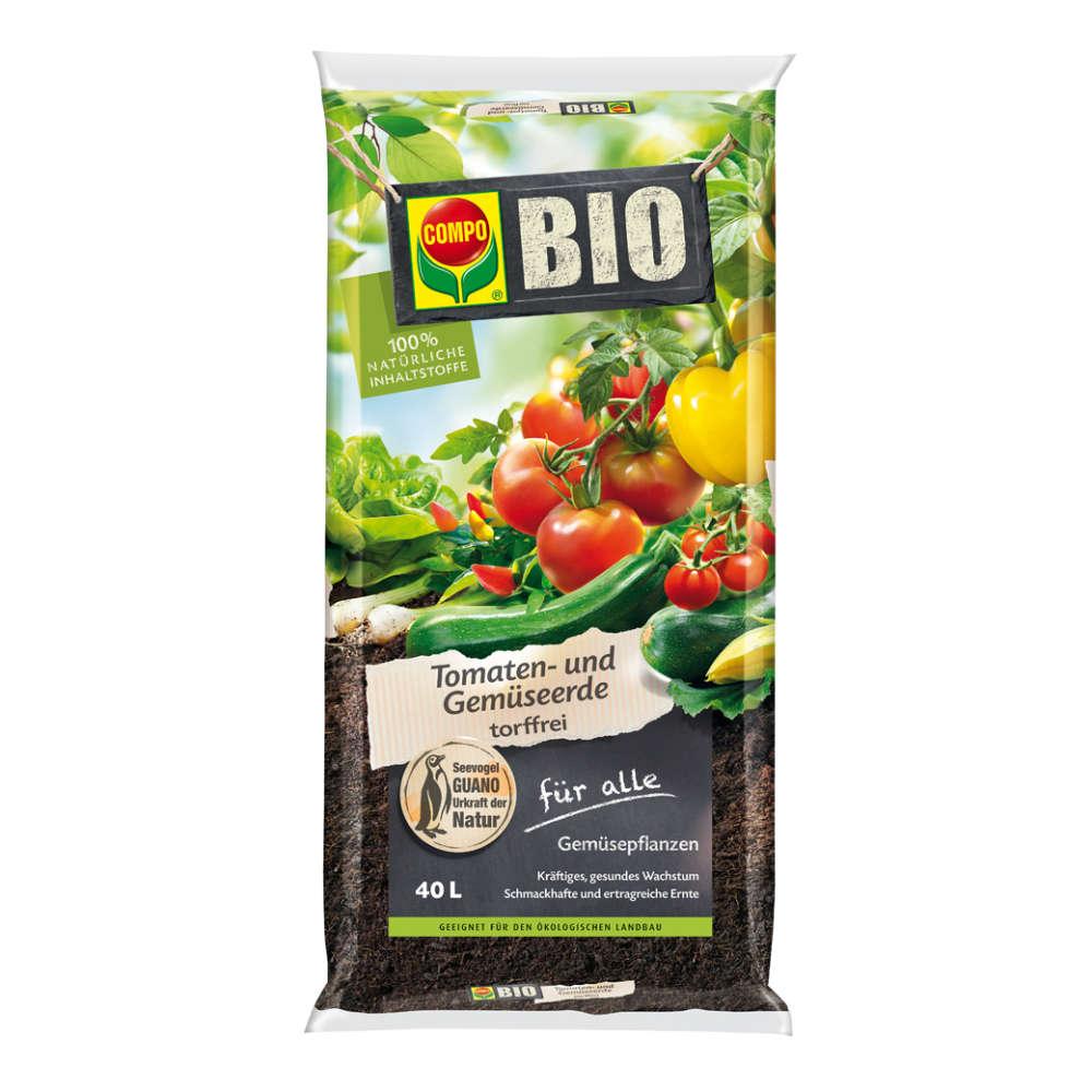 COMPO BIO Tomaten- und Gemüseerde torffrei - Erden