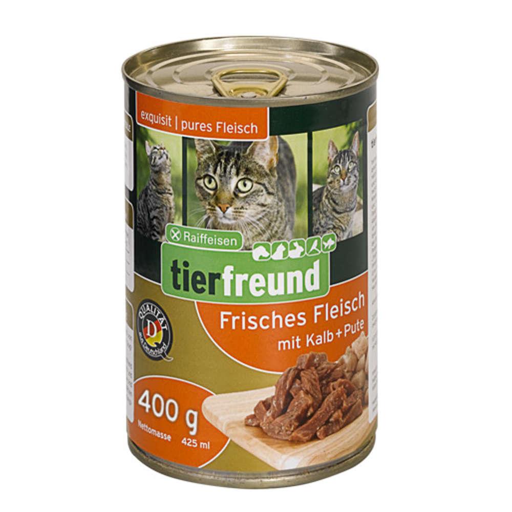 Grafik für Raiffeisen tierfreund Frisches Fleisch Kalb + Pute 400 g in raiffeisenmarkt.de