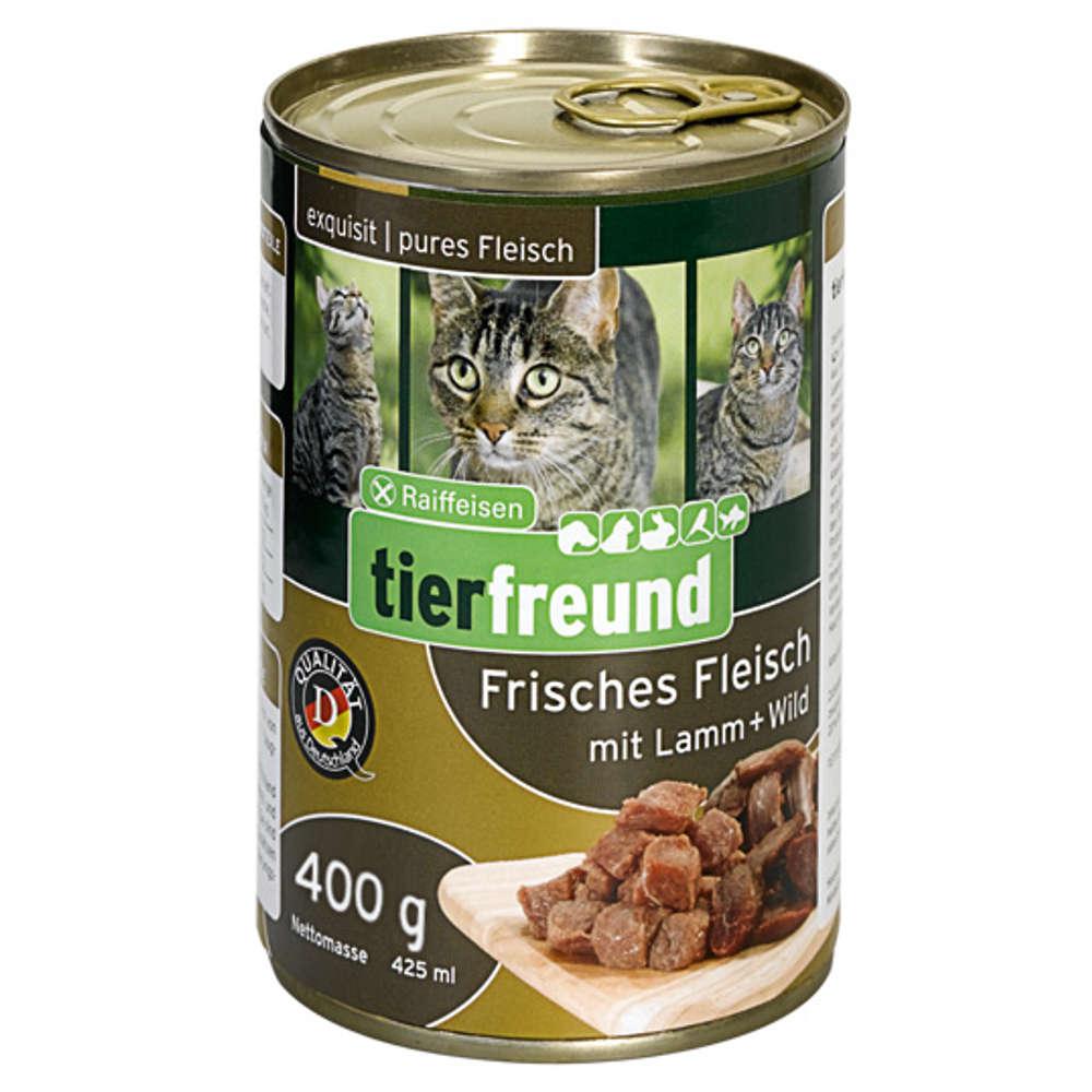 Grafik für Raiffeisen tierfreund Frisches Fleisch Lamm + Wild 400 g in raiffeisenmarkt.de