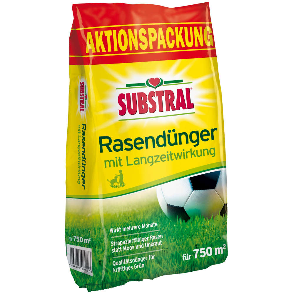 Substral Rasen-Dünger m. Langzeitwirkung - Dünger