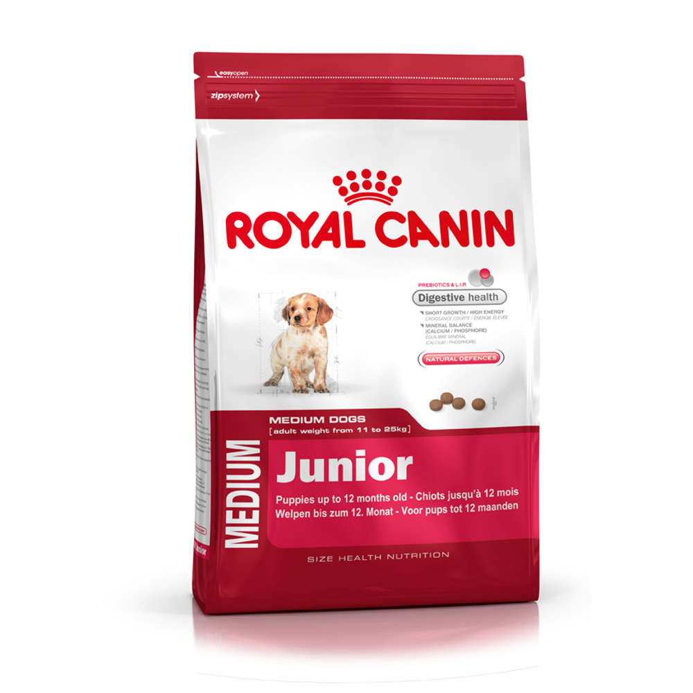 Grafik für ROYAL CANIN Medium Junior in raiffeisenmarkt.de