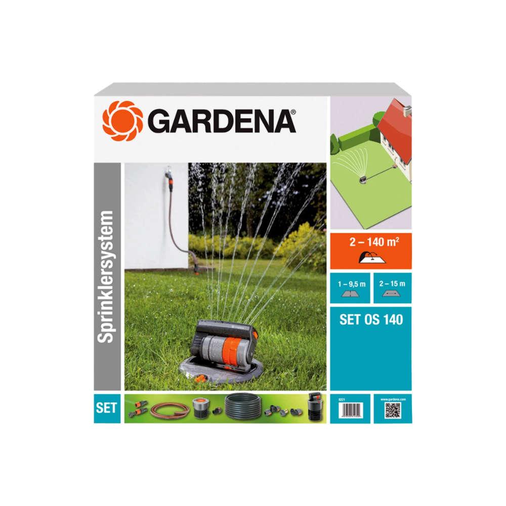 Gardena Sprinklersystem Komplett_set