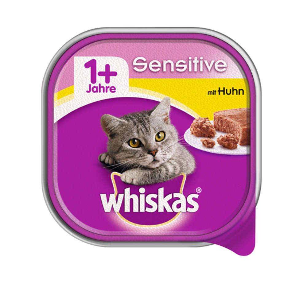 Grafik für WHISKAS Schale  1+ Sensitive mit Huhn 100 g in raiffeisenmarkt.de
