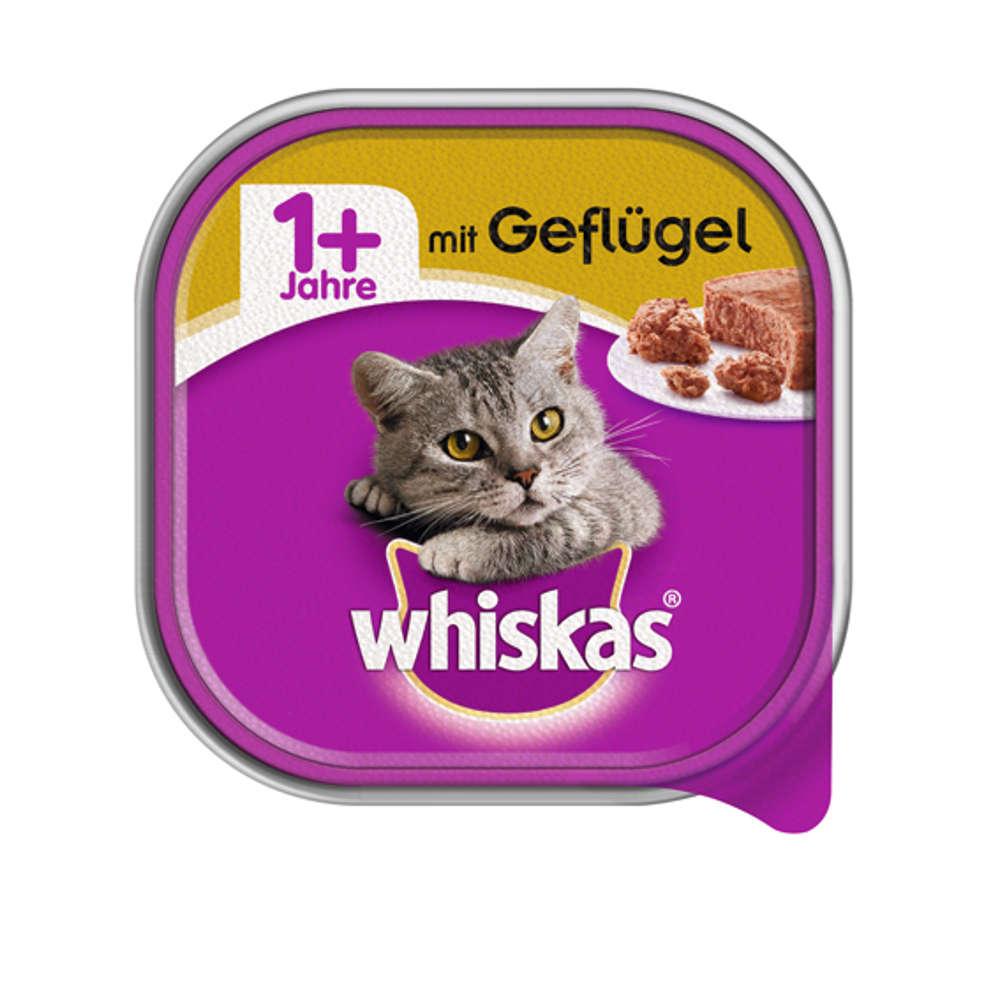 Grafik für WHISKAS Schale  1+   mit Gefluegel   100G in raiffeisenmarkt.de