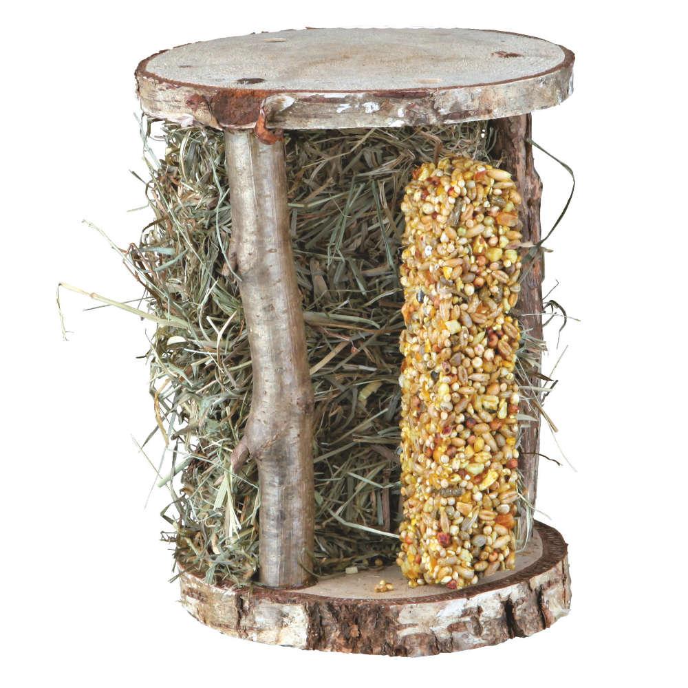 TRIXIE Natur-Snack-Holzturm - Kleintierzubehör