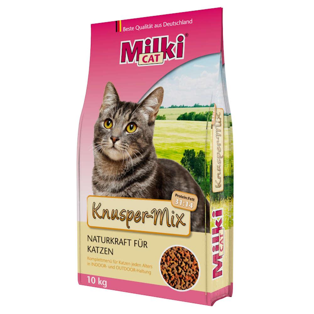 Milki Cat Knusper-Mix - Katzen-Trockenfutter
