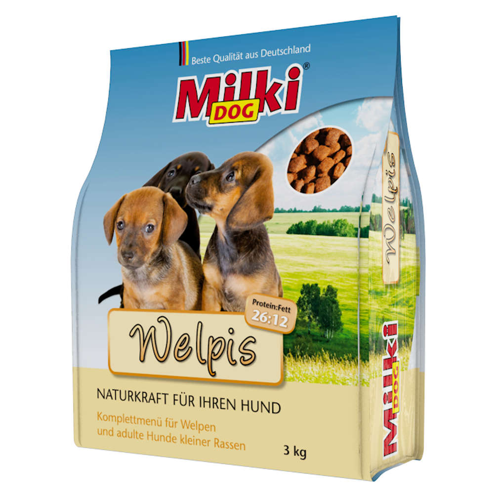 Milki Dog Welpis - Hunde-Trockenfutter