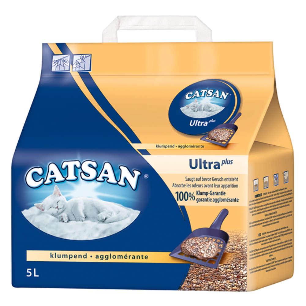 CATSAN Ultra Klumpstreu - Katzentoilette