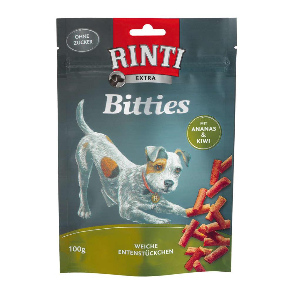 RINTI Mini Bits Ente Ananas Kiwi - Hundeleckerlies