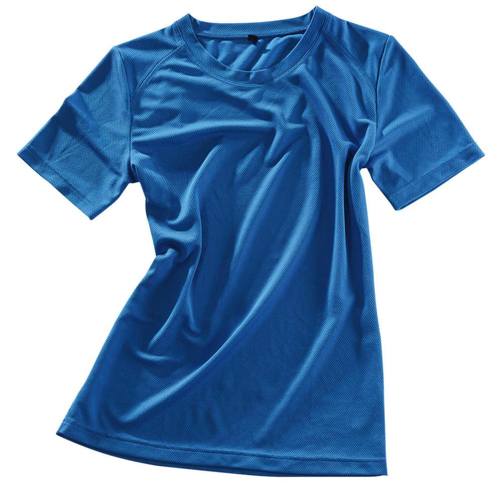 C.CENTIMO Damen-Funktionsshirt blau - Arbeitsbekleidung