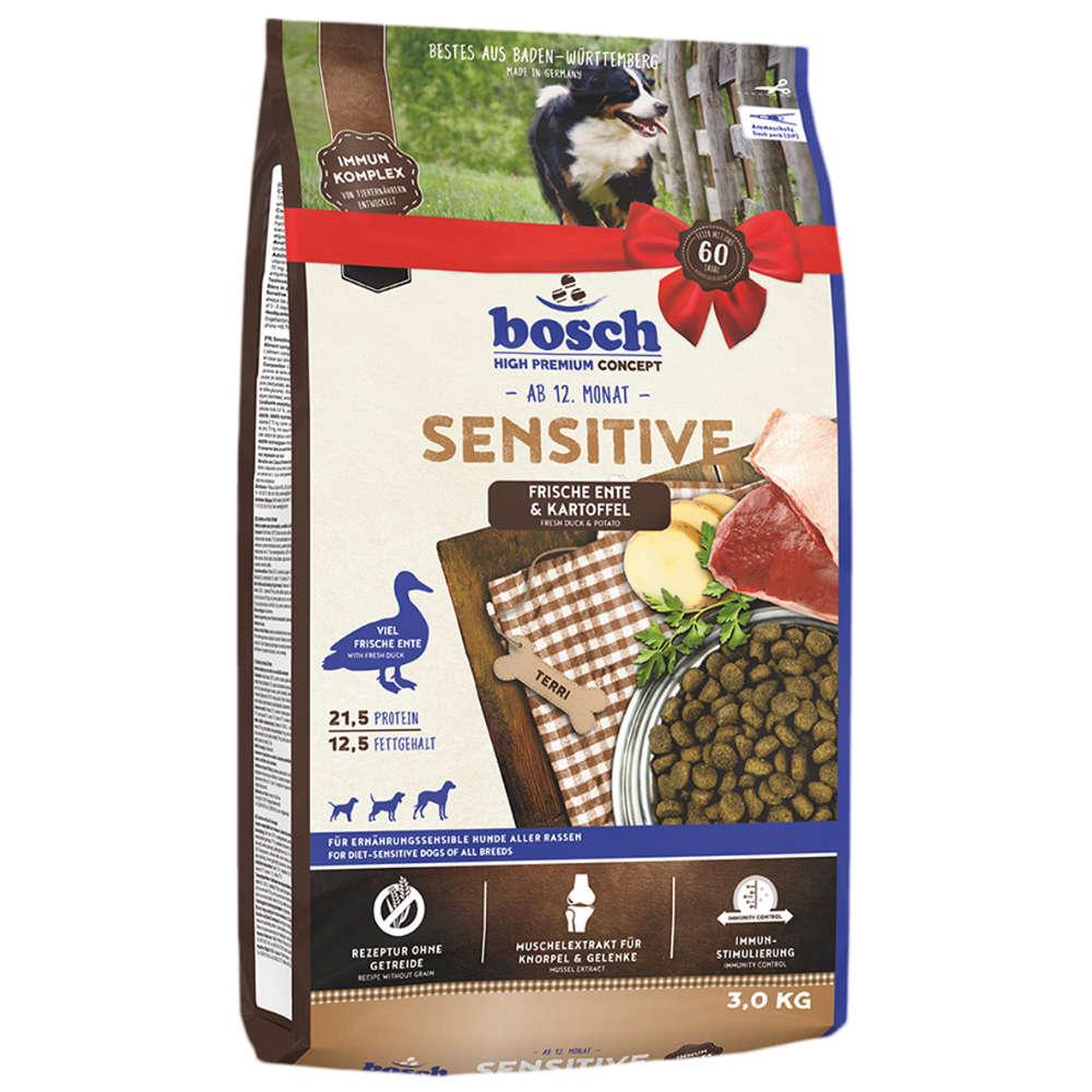 Bosch Hunde-Trockenfutter Sensitive Ente + Kartoffel