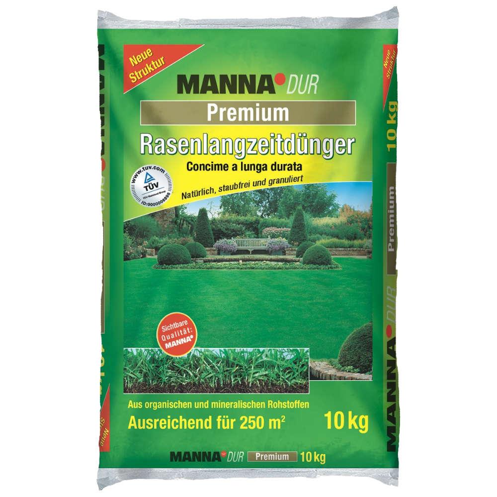 MANNA DUR Premium Rasenlangzeitdünger - Rasendünger