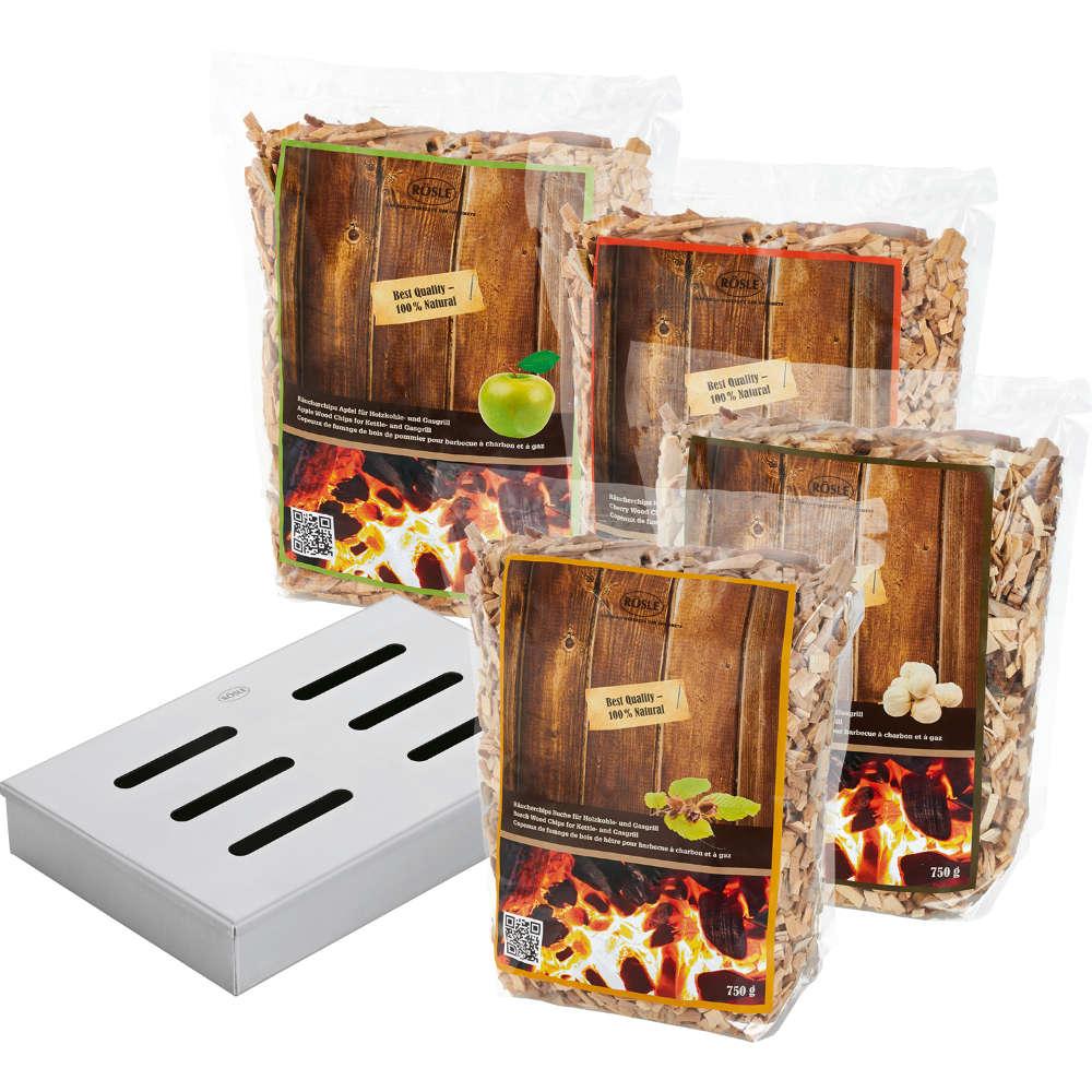 Rösle Räucherbox Set