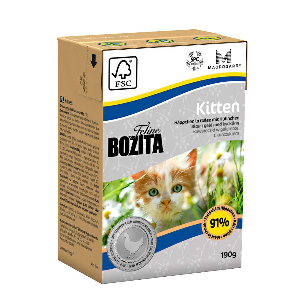 Bozita Feline Kitten Haeppchen in Gelee - Katzen-Nassfutter