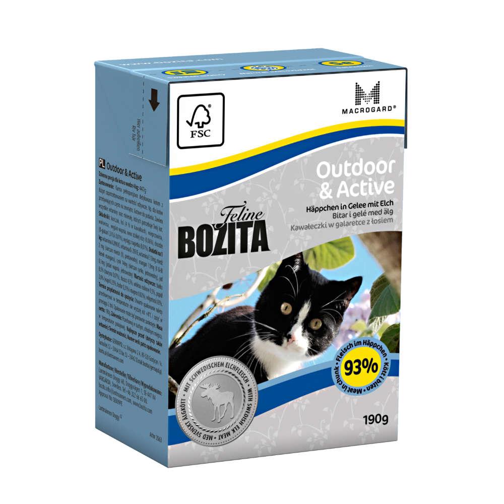 Bozita Feline Outdoor & Active Haeppchen in Gelee - Katzen-Nassfutter
